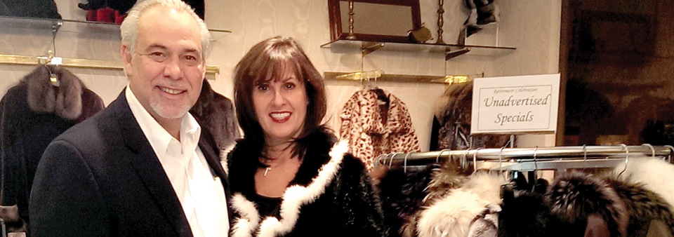 embry's Furs Lexington Kentucky owners Cliff and Yvonne Katsamakis